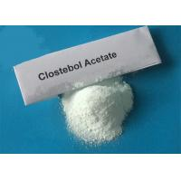 Buy cheap Cutting Steroid Powder Clostebol Acetate / 4-Chlorotestosterone Acetate Dosage CAS 855-19-6 from wholesalers
