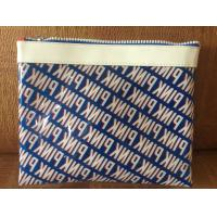 Buy cheap Sewing Printing Polythene Gift Bags , Promotional Heat Seal PVC Cosmetic Bags from wholesalers