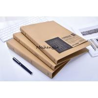Buy cheap Custom B5 A5 Pocket File Folders 2 Or 3 Ring Made By Hard Brown Kraft Paper product