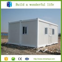 Buy cheap hot sale ready made china prefabricated 20ft container van house for sale philippines from wholesalers