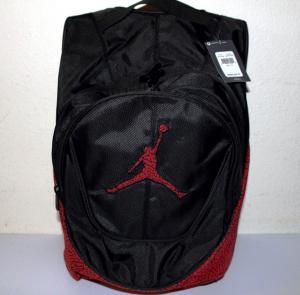 Buy cheap Nike Air Jordan Jumpman backpack /school book bag black,red Elephant Print product