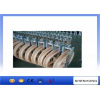 Buy cheap Overhead Transmission Line OPGW Installation Tools Conductor Stringing Blocks φ660x100mm from wholesalers