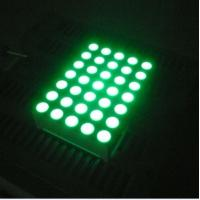 Buy cheap Pure Green 5x7 Dot Matrix 3mm LED Lights Moving Message Signs from wholesalers