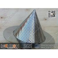 Buy cheap 2 Conical Perforated Metal Mesh Filters from wholesalers