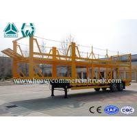Buy cheap Light Weight Car Carrier Semi Trailer Hydraulic Lifting Vehicle Hauling Trailers from wholesalers