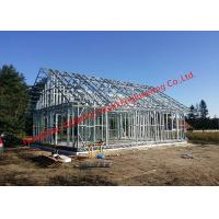Buy cheap Galvanized H - Beam Steel Structure Framing Systems For Workshop Or Villa House from wholesalers