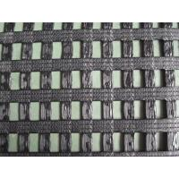 China Warp kintted polyester biaxial geogrid on sale