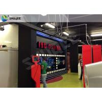 Buy cheap Truck Mobile Cinema 5D Movie Theater Motion Cinema Theater System Special Effect product