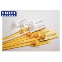 Buy cheap Numbered Plastic Security Seals For Containers Length 340mm OEM product