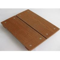 Buy cheap Anti-Mould Composite Wood Decking Flooring / Boardwalk For Park Floor from wholesalers