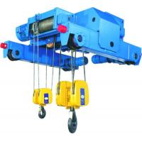 Buy cheap 3 ton, 5 ton, 6 ton, 8 ton Double Girder Electric Wire Rope Hoist With Trolley For Storage / Warehouse / Stock Ground from wholesalers