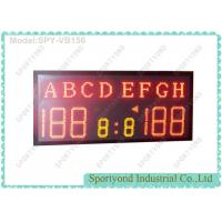 Buy cheap High School Sports Electronic Volleyball Scoreboard / Table Tennis Score Boards from wholesalers