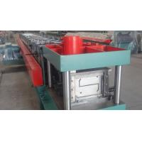 Buy cheap Width 100 - 300mm Z Type Purlin Cold Roll Forming Machine For Exhibition Building from wholesalers