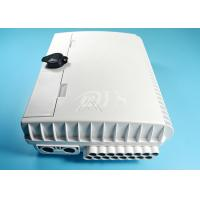 Buy cheap 16 Core Outdoor Waterproof Fiber Optic Distribution Box / Closure Pc Material from wholesalers