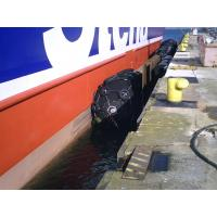 Buy cheap Rubber Pneumatic Marine Fenders Black / grey Color for ship to dock from wholesalers