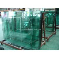 Buy cheap Doors Coated Tempered Safety Glass Decorative Curved Toughened Glass product