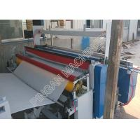 Buy cheap Semi automatic tissue paper rolls rewinding machine efficient with embassing Function from wholesalers