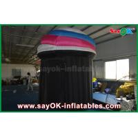 Buy cheap DIA 2.5m Customized Inflatable Booth Tent , PVC Photo Booth Tent Durable from wholesalers
