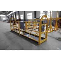 Buy cheap Mast Climbing Suspended Working Platform / mobile elevated work platform from wholesalers