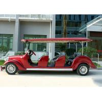 Buy cheap Hotel Shuttle Classic Golf Cars , Street Legal Electric Vehicles 48V Battery Voltage from wholesalers