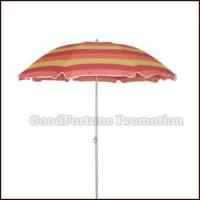 Buy cheap Promotional Outdoor Beach Umbrella Gift Logo product
