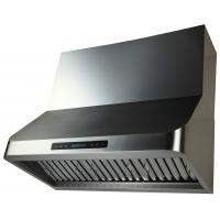 Buy cheap ETL certificate American and Canada standard Wall mounting range hood with Baffle Filters 36'' from wholesalers