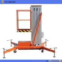 Buy cheap 2018 Five Stars Good Quality Man Lift Table for Aerial Work Lift Equipment Aluminum Lift Platform from wholesalers