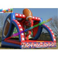Buy cheap Professional Inflatable Sports Games Rugby Post Americal Football Field from wholesalers