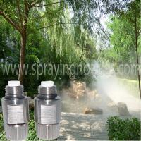 Buy cheap High pressure fog misting nozzle and Tee connector from wholesalers