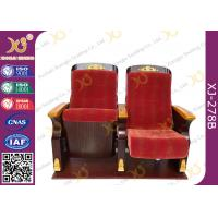 Buy cheap Commercial Triangle Arm Conference Room Church Seats / Auditorium Chair from wholesalers