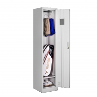 Buy cheap Single Doors Metal Locker Cabinet Thickness 0.6mm Steel Office Furniture from wholesalers