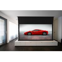 Buy cheap Motorized Tab Tensioned Projector Screen 100 / Home Cinema Screen from wholesalers