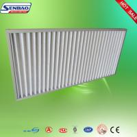Buy cheap High Air Flow Pleated Panel Air Filters Industrial Air Purifier With Washable Filter from wholesalers