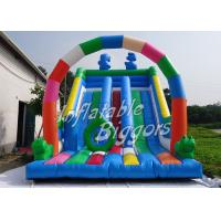 Buy cheap Giant Durable Kids Inflatable Slides EN14960 CE , Backyard Inflatable Slides from wholesalers