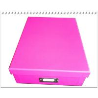 Buy cheap A4 Paper Storage Boxes With Lid (Width 23cm X Depth 31cm X Height 8cm) colorfull from wholesalers