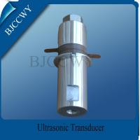Buy cheap High Frequency Piezoceramic Transducer High Voltage Transducer from wholesalers