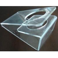 Buy cheap Scratch resistance Acrylic Display Holders , 3mm Clear acrylic dryer holder from wholesalers