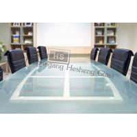 Buy cheap 10MM  tempered glass for meeting table from wholesalers