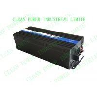 Buy cheap 6000w DC24V-AC120V Pure sine wave inveter for air conditoner &motor (CTP-6000W) from wholesalers
