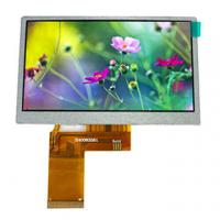 "Buy cheap 4.3"" TFT LCD screen with high luminance, 480*3(RGB)*272 resolution, RGB/MPU/SPI interface product"