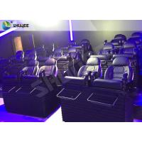 Buy cheap Metal Flat Screen 7d Interactive Theater 7d Cinema Equipment For Children / Adults product
