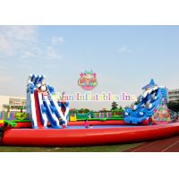 Buy cheap Custom Animals Inflatable Water Park Equipment With Digital Printing from wholesalers