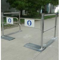 Buy cheap Stainless steel security barrier access control supermarket entrance turnstile from wholesalers
