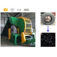 Buy cheap High efficiency old tractor tire recycling shredder manufacturer with CE from wholesalers