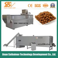 Buy cheap Industrial Animal Feed Processing Machine Twin Screw 150-5000 Kg/h Capacity from wholesalers