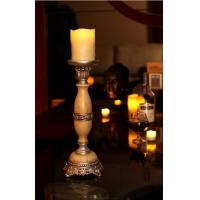 Buy cheap Marble candle stand Resin candle Accessories Candle Stick Holder ,decoration led candle from wholesalers