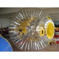 Buy cheap PVC Interesting Transparent Inflatable Zorb Ball Water Entertainment Ball also Space walking balls from wholesalers