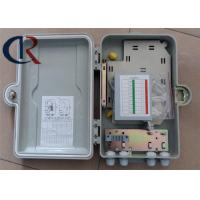 Buy cheap FTTH Fiber Optic Distribution Box Outdoor Wall Mounted Waterproof Free Paint Appearance from wholesalers