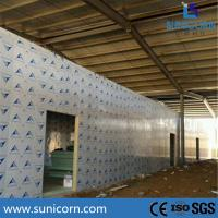 Buy cheap PU sandwich panel steel structure rack cold storage warehouse for food from wholesalers