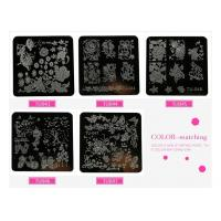 Buy cheap nail art metal stamp stamping plate nails polish lace henna flower floral leaf image desig from wholesalers
